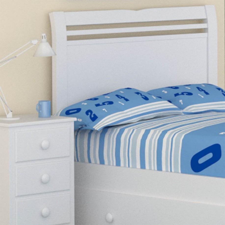 Chambre bleue Tête de lit enfant Ailes