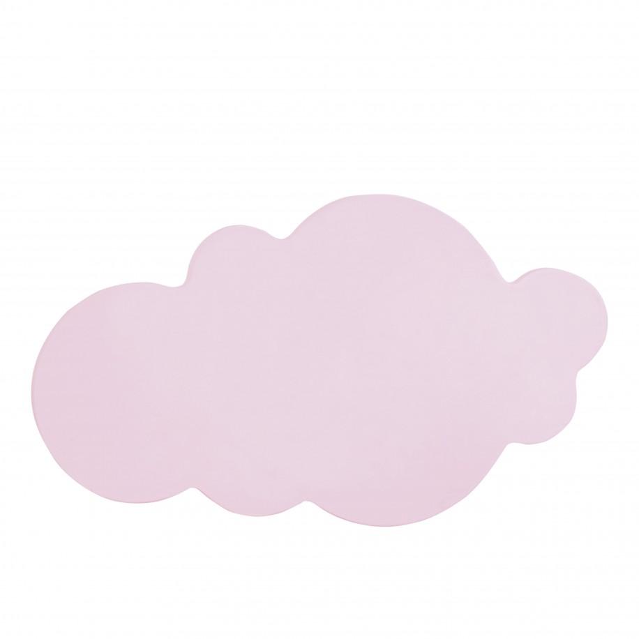 Applique murale enfant Nuage rose