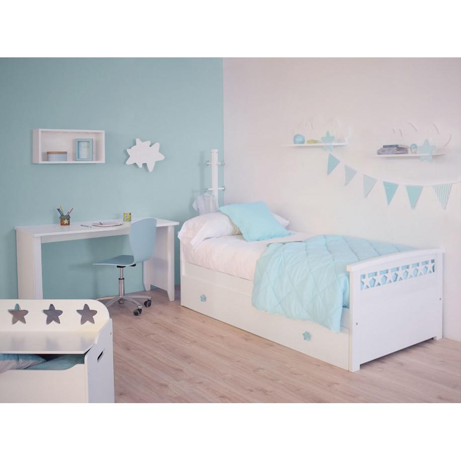 Chambre avec applique murale enfant Étoiles