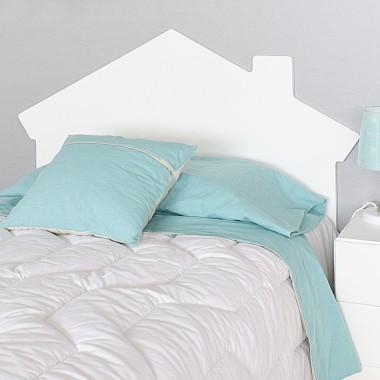 Tête de lit enfant Cabane