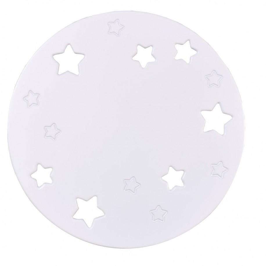 Applique murale enfant Lune blanche