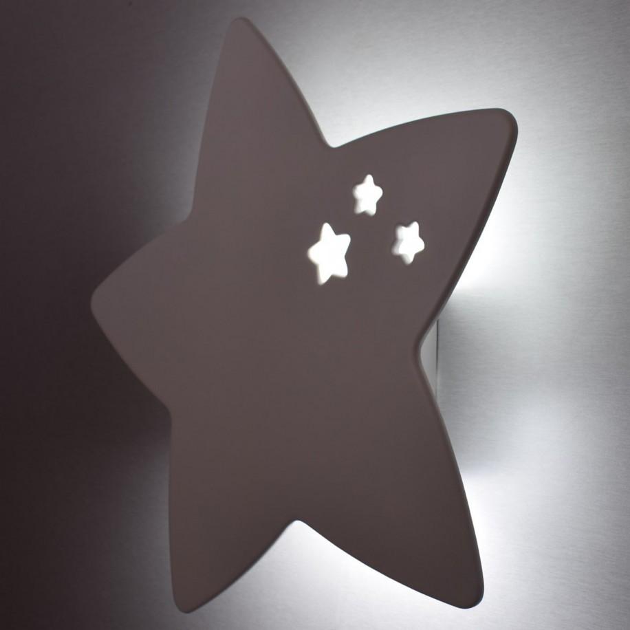 Détails Applique murale enfant Étoile allumée