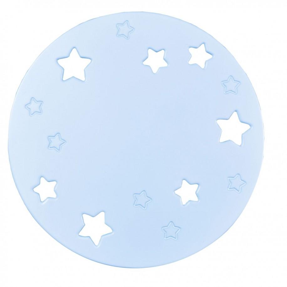 Applique murale enfant Lune bleue