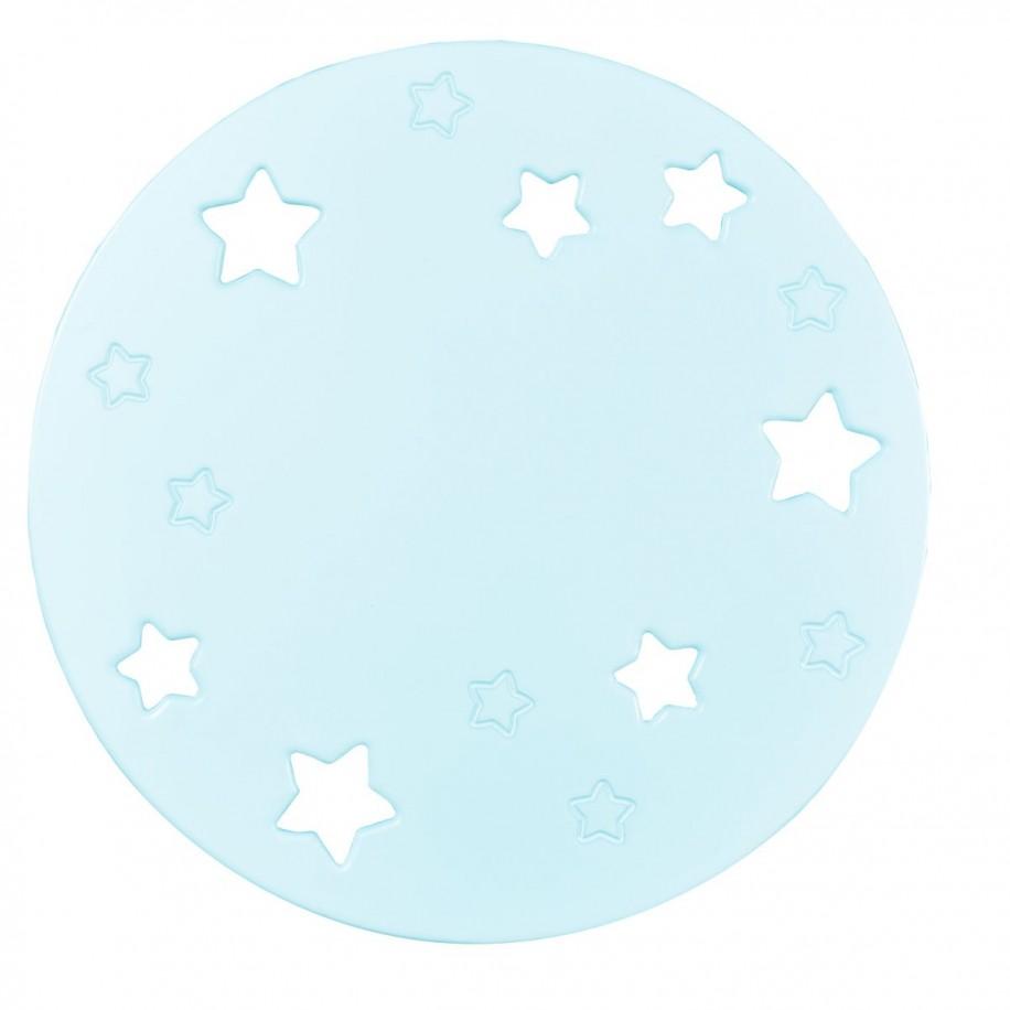 Applique murale enfant Lune menthe