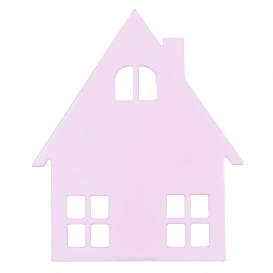 Applique murale enfant Cabane rose