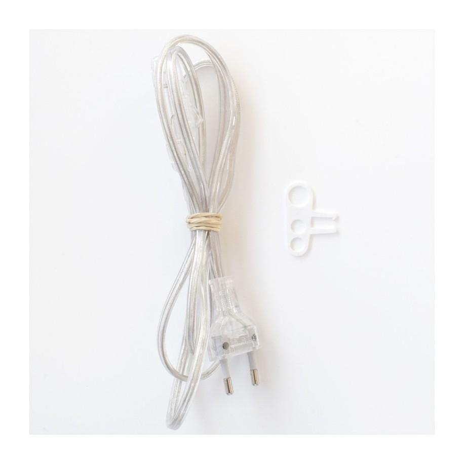 Câble avec prise et interrumpteur