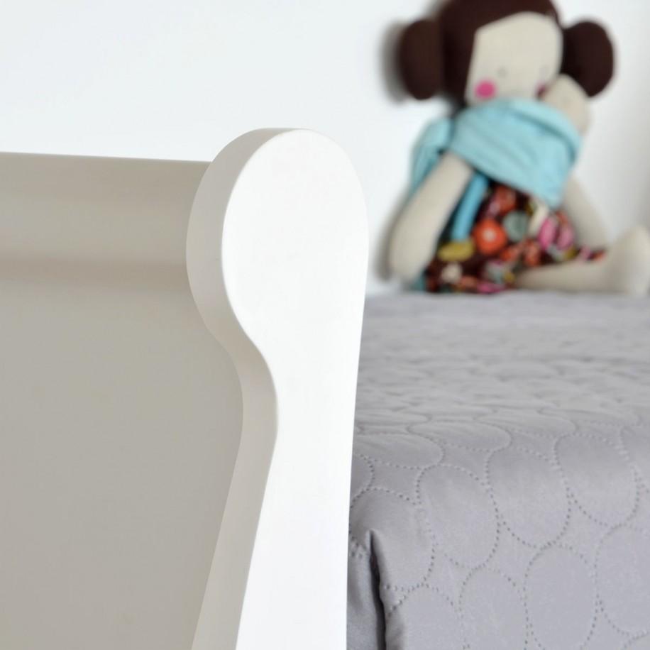 Lit enfant fille avec tiroirs de rangement Gondole