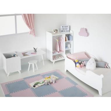 Chambre enfant Montessori Gondole avec Armoire