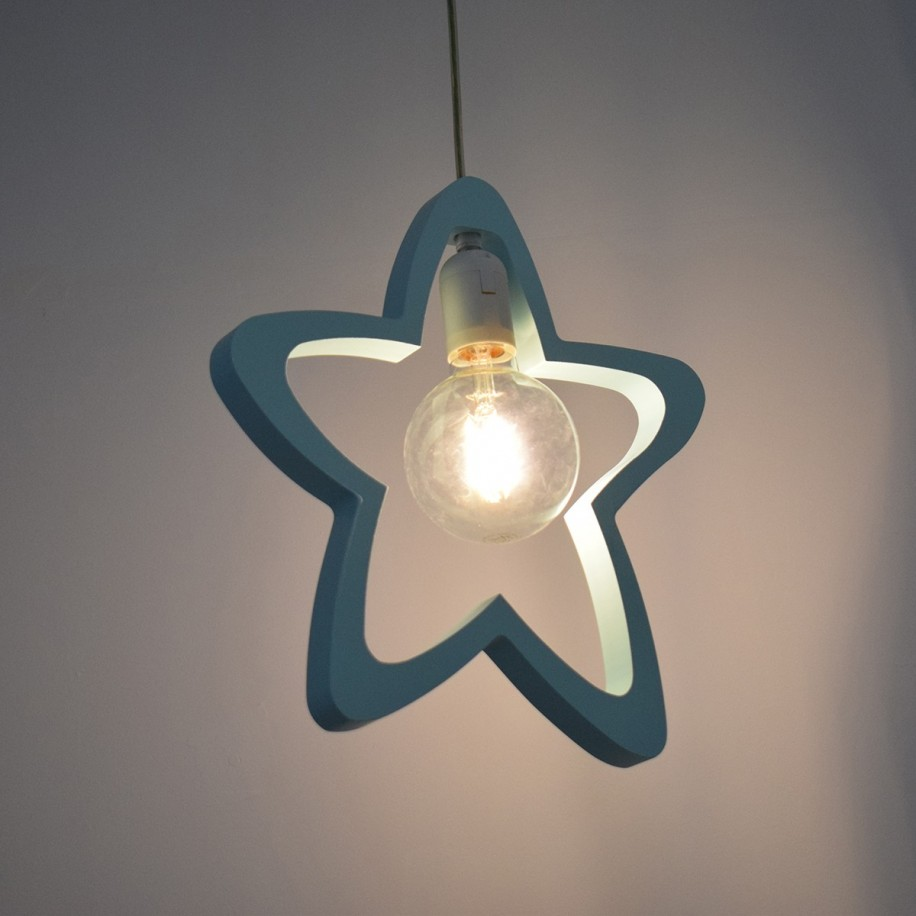 Lampe suspendue Étoile