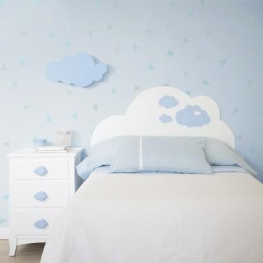 Tête de lit enfant Nuage