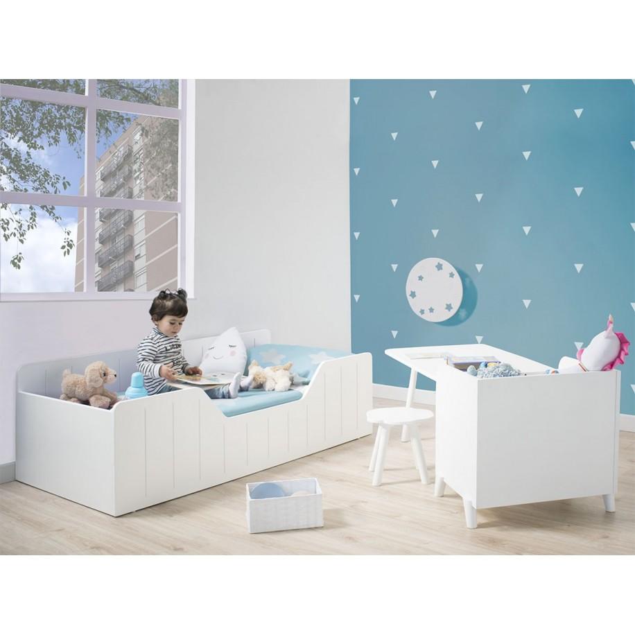 Chambre enfant avec applique murale Lune