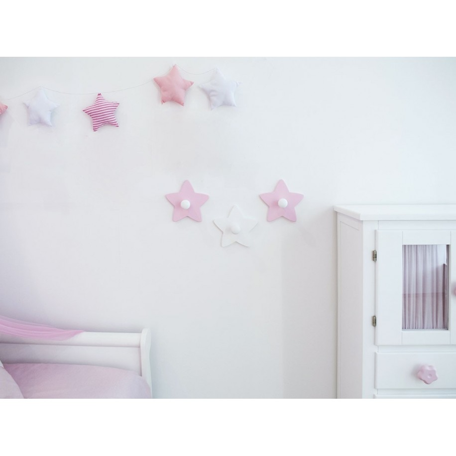 Chambre avec portemanteau enfant Étoile