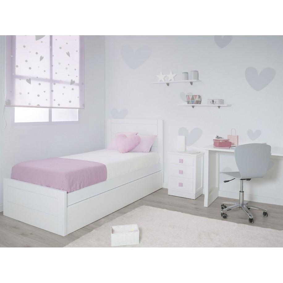 Chambre avec lit gigogne adolescent