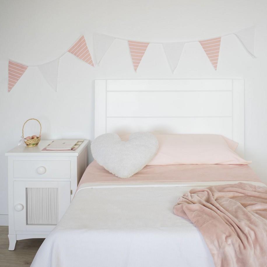 Tête de lit du lit gigogne Linéaire