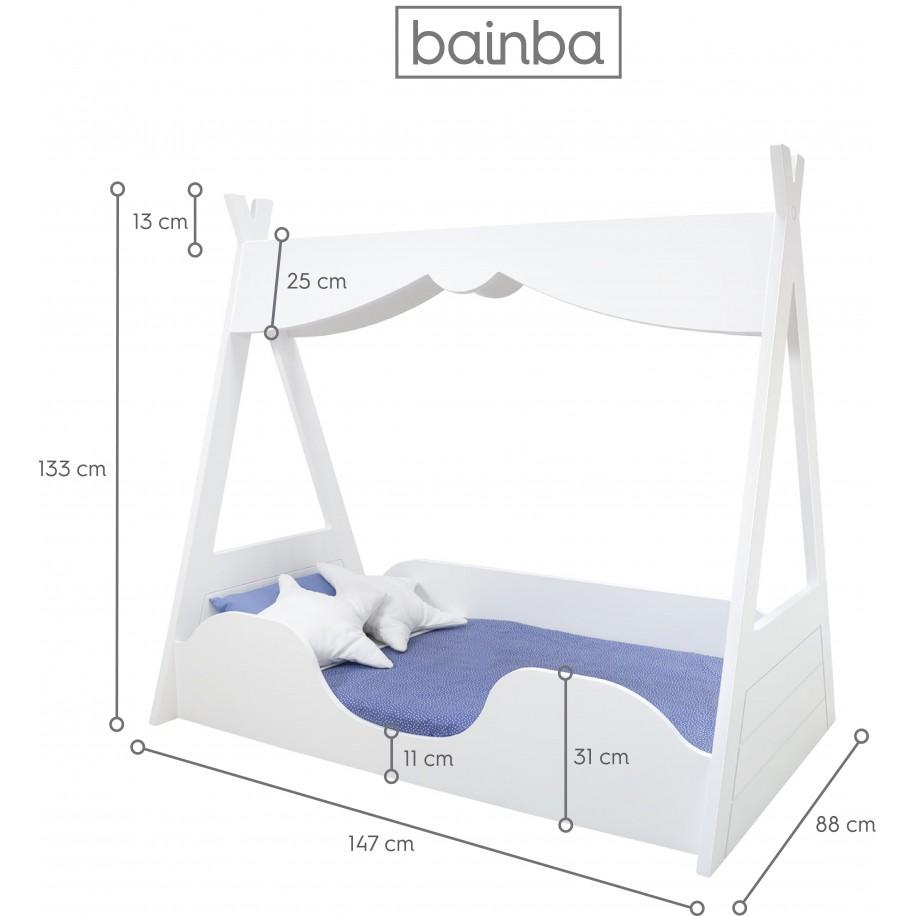 Dimensions du lit Tipi Montessori
