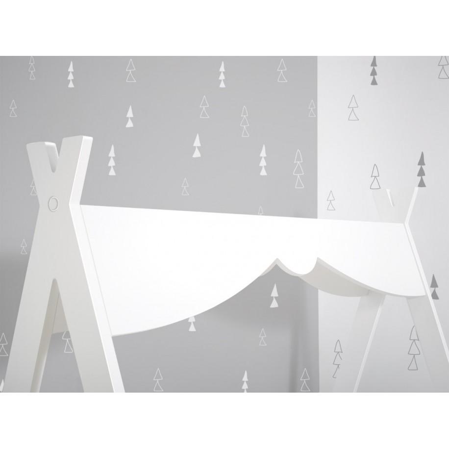 Lit Tipi Montessori pour enfant détails du toit