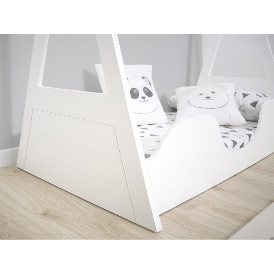 Lit Tipi Montessori pour enfant détails du lit