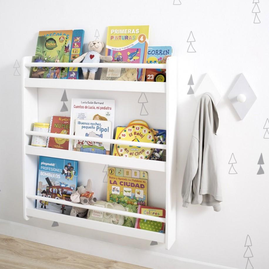 Bibliothèque Montessori pour enfant
