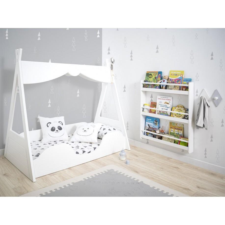 Chambre avec Bibliothèque Montessori