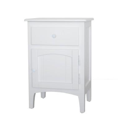 Table de chevet tiroir + porte Athéna