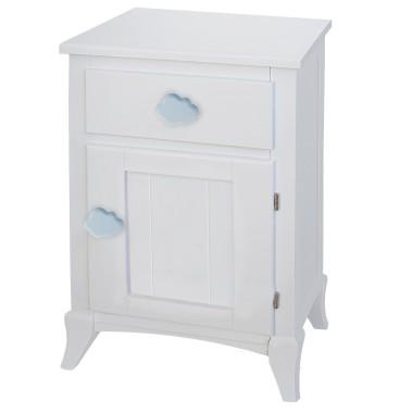 Table de chevet enfant avec porte