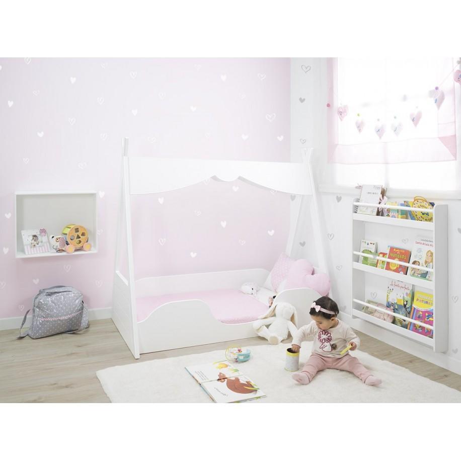 Chambre avec lit Montessori Tipi pour enfant