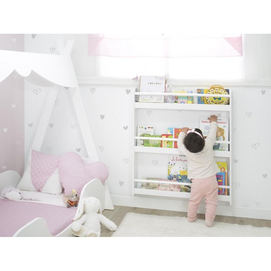 Chambre pour enfant avec Bibliothèque Montessori