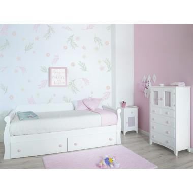 Chambre enfant Gondole lit avec rangement