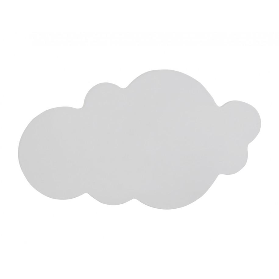 Applique murale enfant Nuage grise