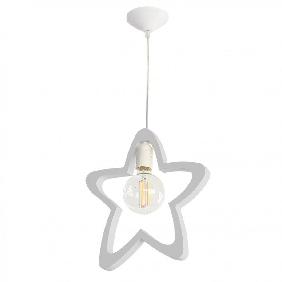 Lampe suspendue enfant Étoile grise