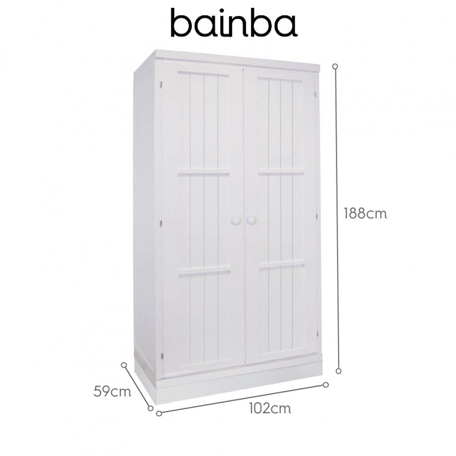 Dimensions armoire avec portes sur socle