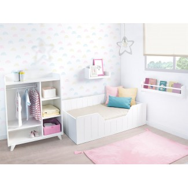 Chambre Enfant Montessori Nao avec armoire