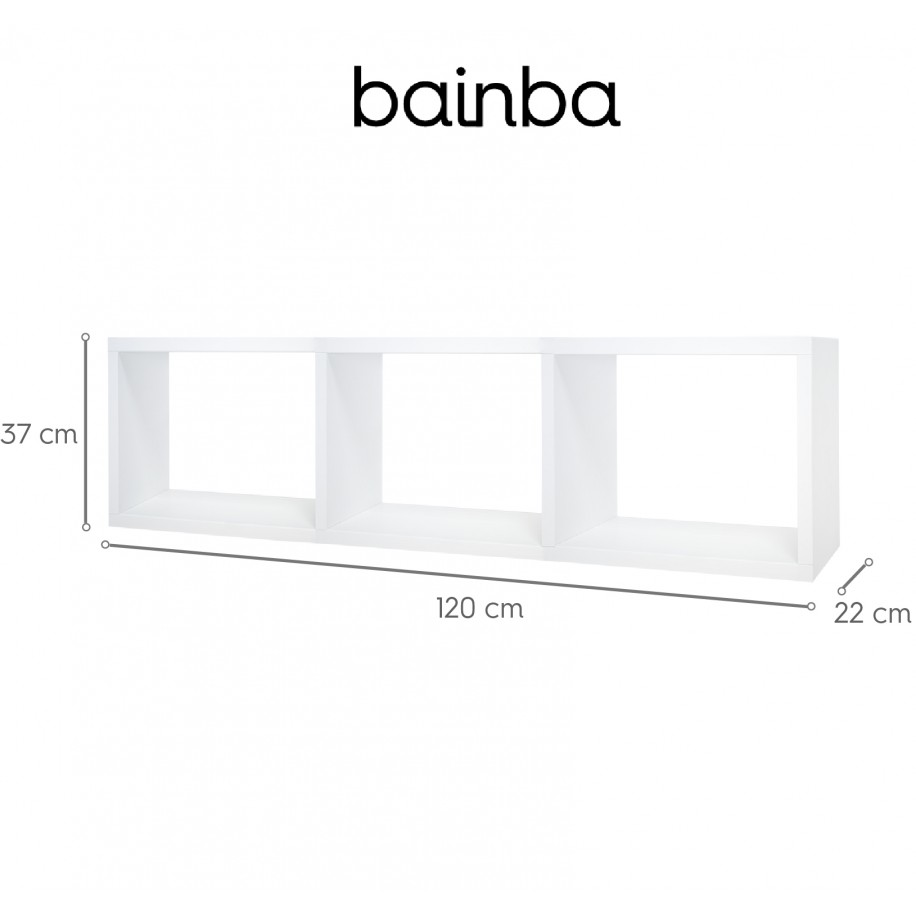 Dimensions étagère murale cubes