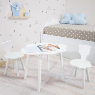 Table et chaises enfant Nuage