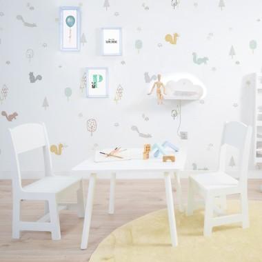 Table et chaises enfant Montessori